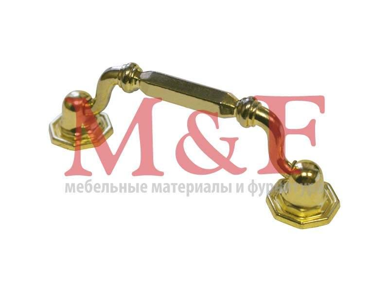 Ручка-скоба GAMET US03-0080-G0003 (US0303) золото (SALE)