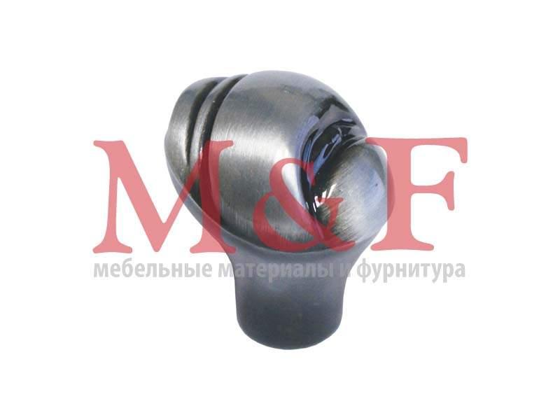 Ручка-кнопка GAMET GN03-G0009 (GN0309) черный полированный никель (SALE)