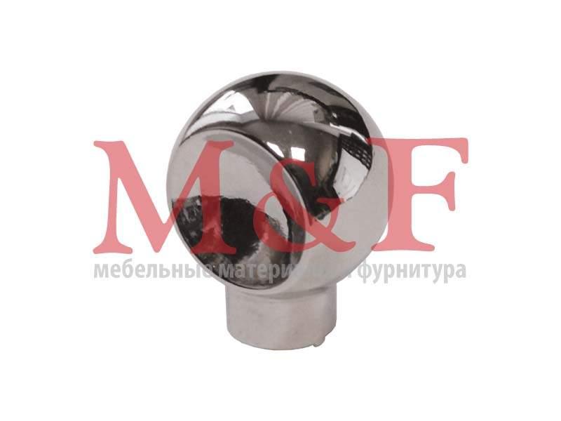 Ручка-кнопка GAMET GU56-G0004 (GU5604) хром (SALE)