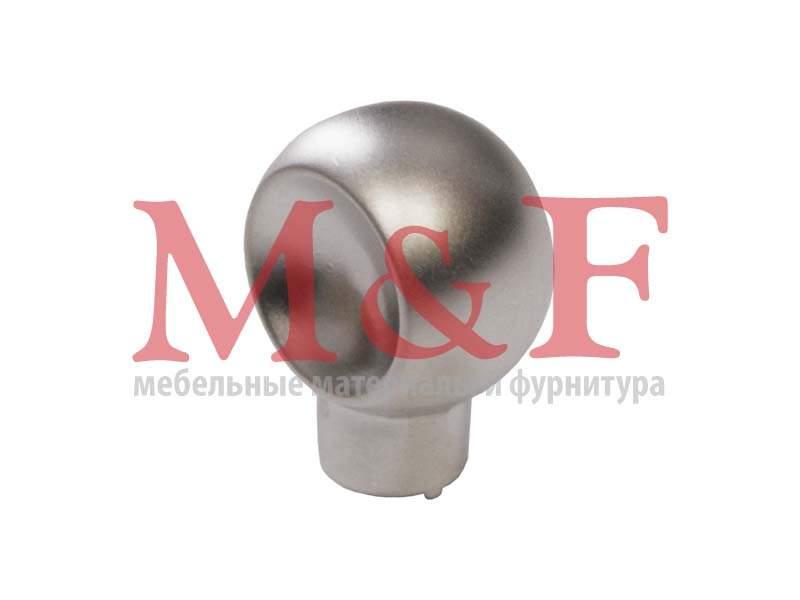 Ручка-кнопка GAMET GU56-G0008 (GU5608) матовый хром (SALE)