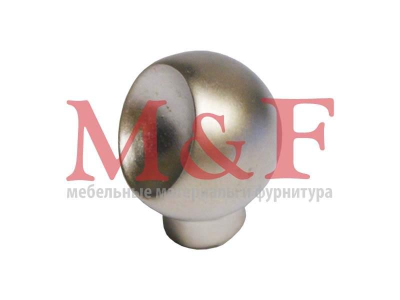 Ручка-кнопка GAMET GU57-G0006 (GU5706) матовый никель (SALE)