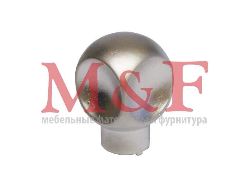 Ручка-кнопка GAMET GU58-G0006 (GU5806) матовый никель (SALE)