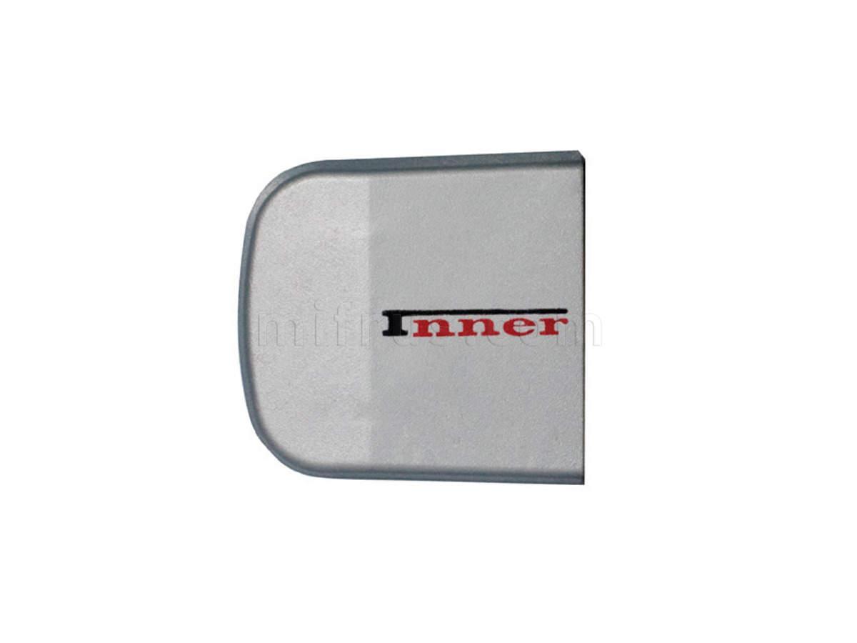 INN.CAP.001.GM/L Заглушка декоративная серая (левая) (упаковка 100 шт.) (SALE)