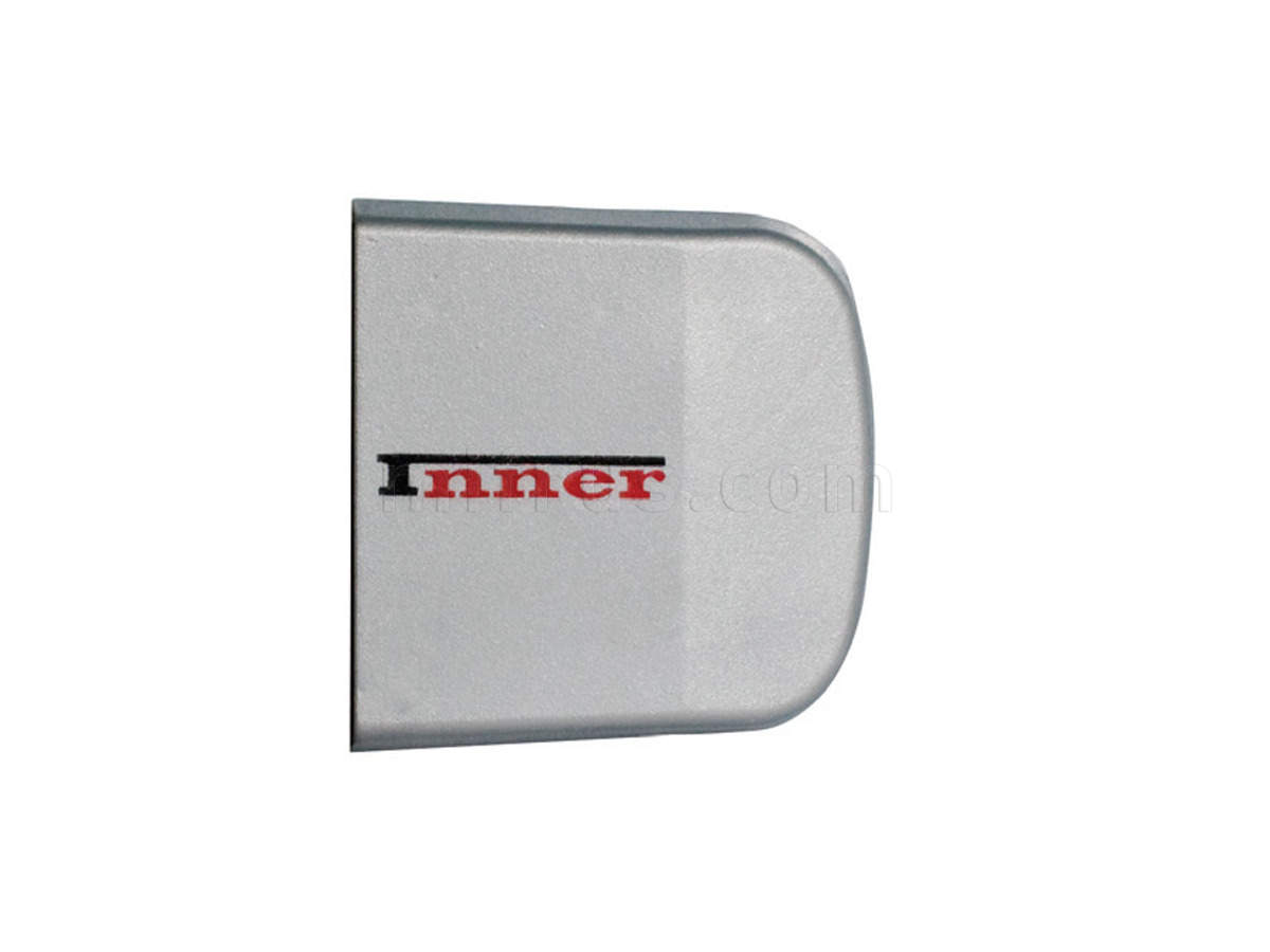 INN.CAP.001.GM/R Заглушка декоративная серая (правая) (упаковка 100 шт.) (SALE)