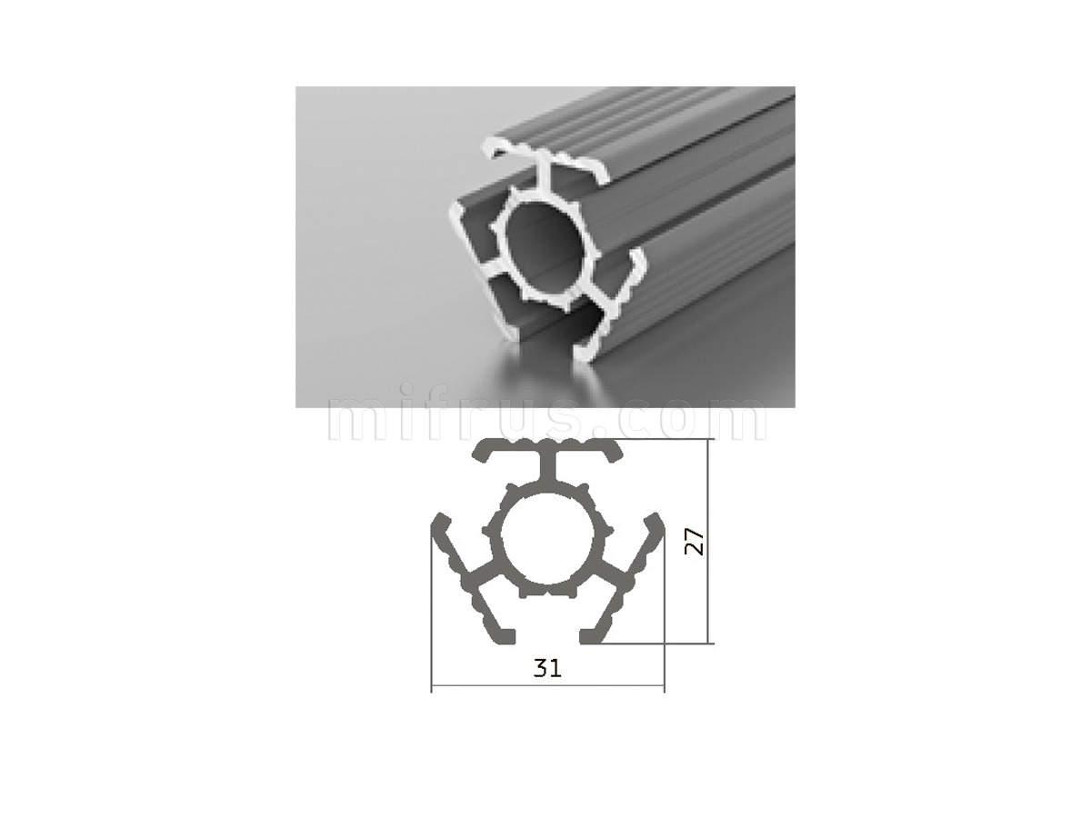 Профиль МП1-11 серебро (6м)