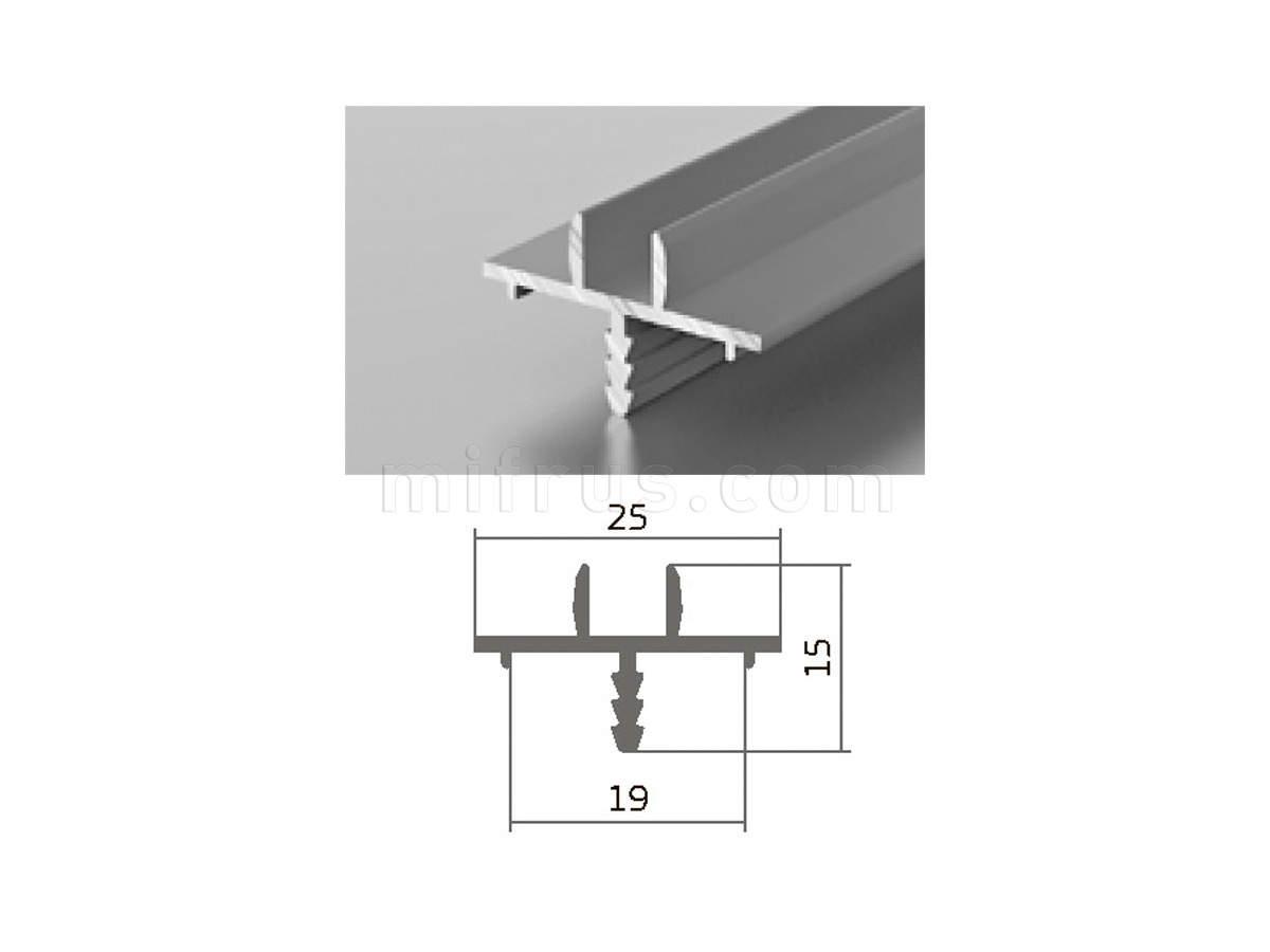 Профиль МП1-05 серебро (6м)