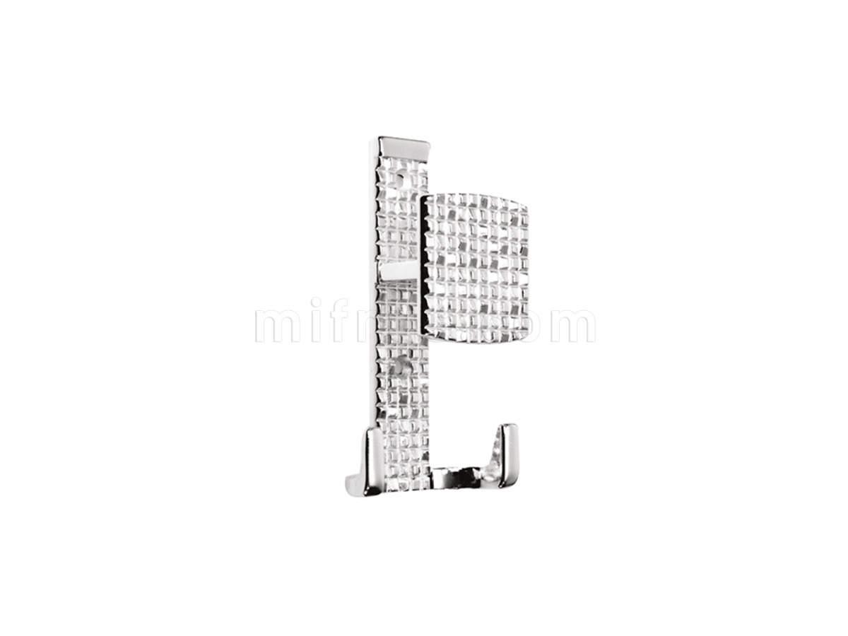 Крючок 11.453.А18 (71х121 мм), серебро (50) (SALE)