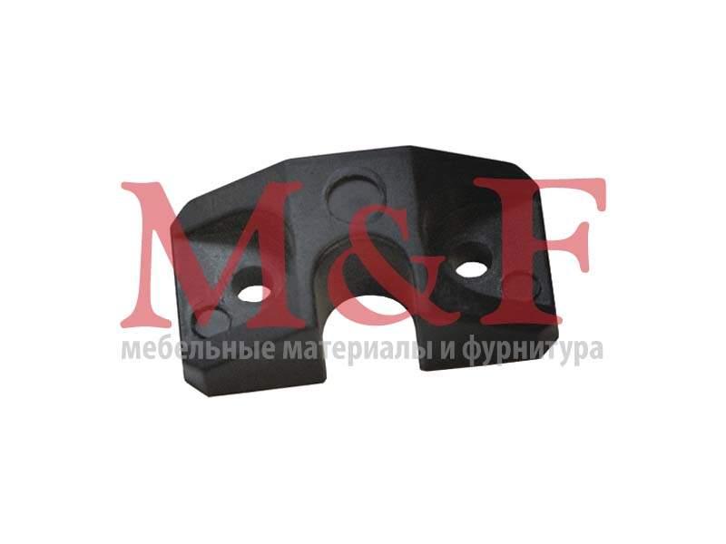 Стопор д/центр.замка пластмассовый черный (SALE)