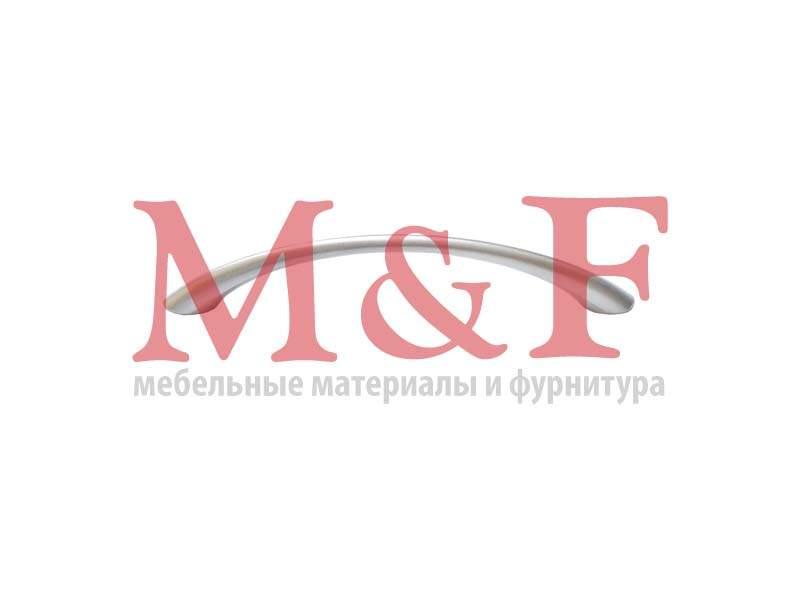 Ручка-скоба ОСКАР 5001/96-03 тонкая матовый хром (100)