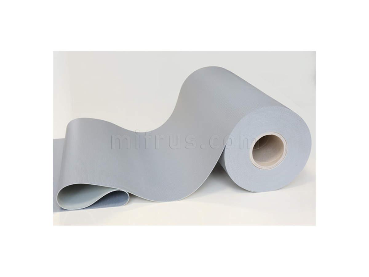 Коврик 196000254 [RLN12I200000480] ПВХ 1,2 мм, СЕРЫЙ, ширина 480 мм (цена за 1 м)