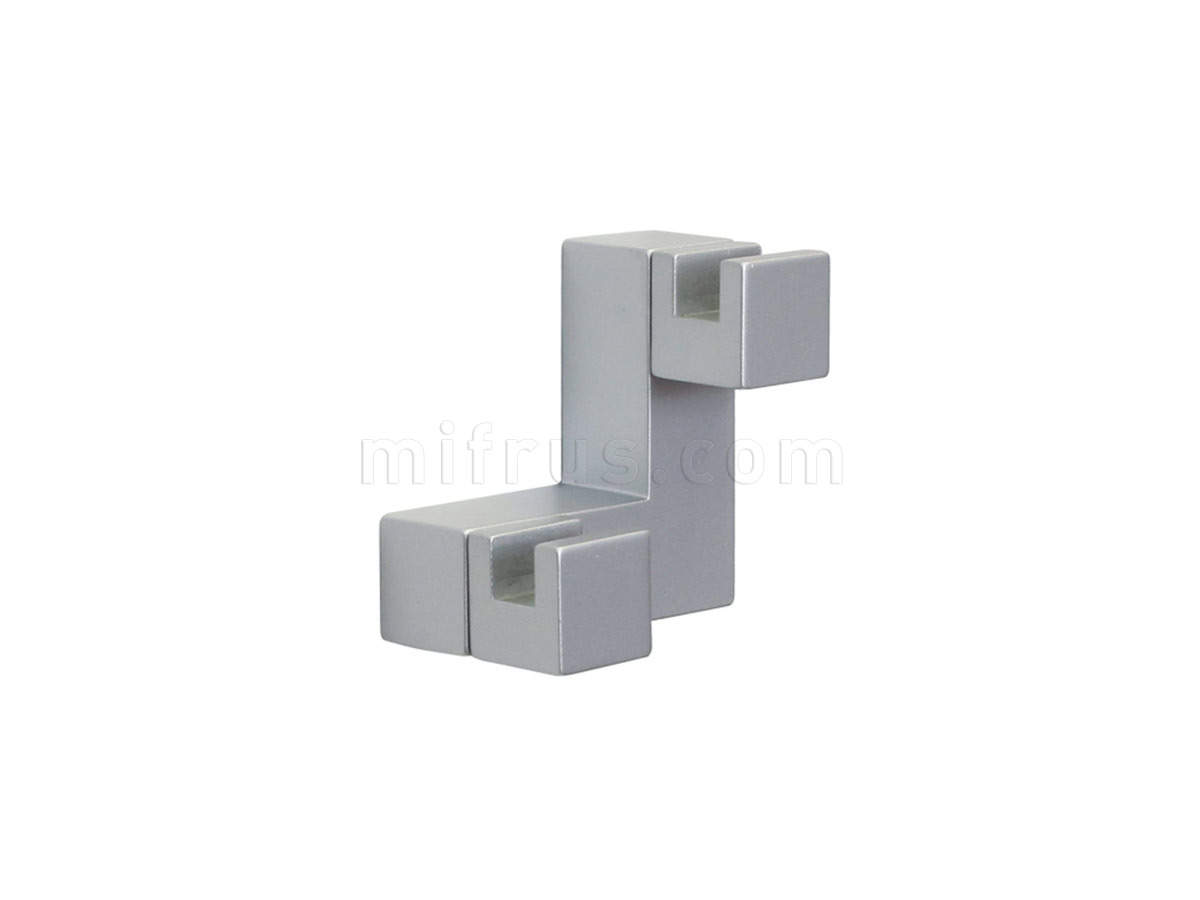 Крючок PA0.0284.00AP1 (60х60х40), алюминий