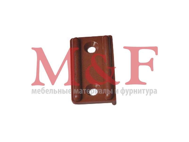 Подпятник пластмассовый под шуруп коричневый (10000шт) (SALE)