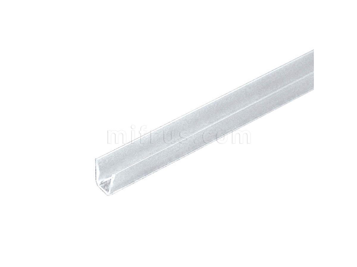 PracticAL Уплотнитель D206AG3000 профиля, транспорент, L=3 м (120) ВЫВОДИТСЯ (SALE)