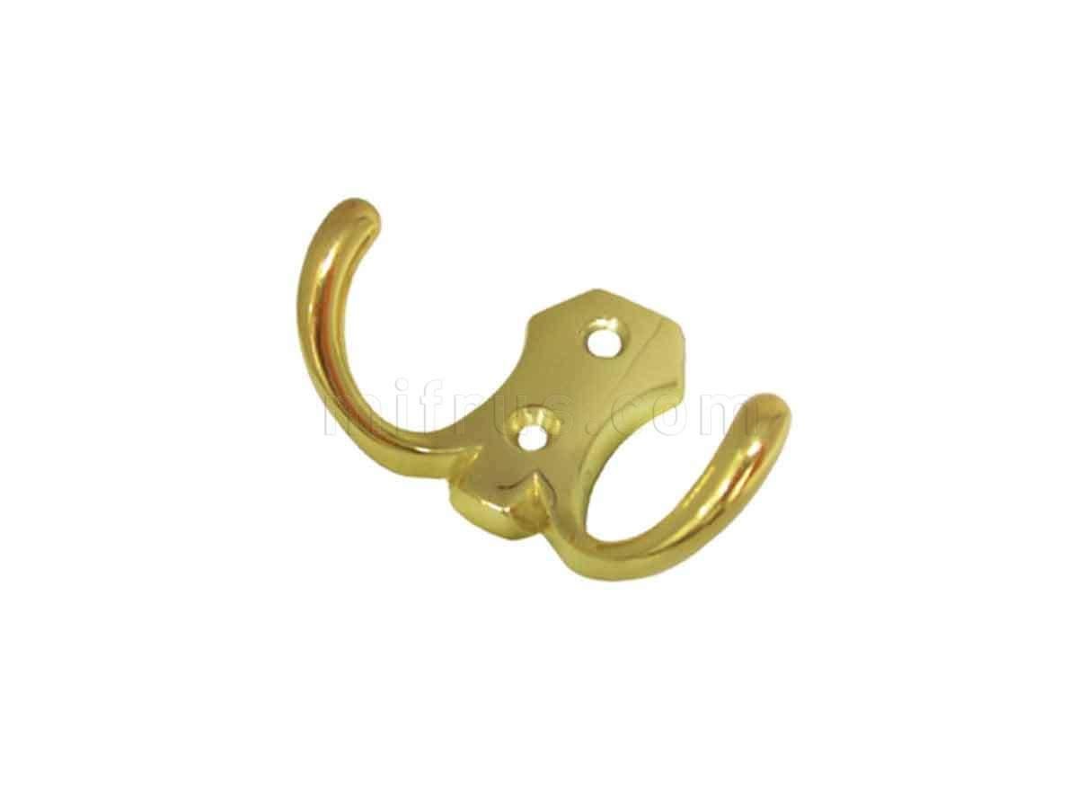 BOYARD Крючок K203GP.2 (K0330) золото (40/400)