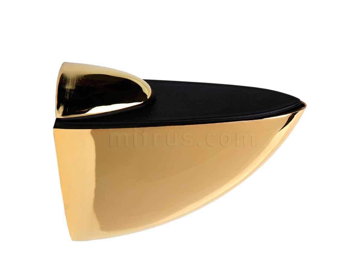 BOYARD Полкодержатель P504GP.2 (P0130) золото (40/400)