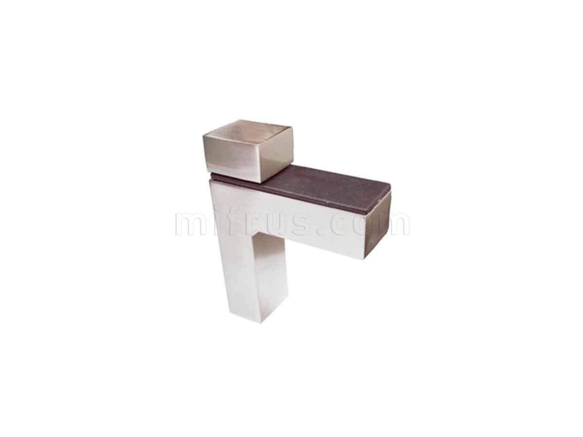 BOYARD Полкодержатель P507BSN.2 атласный никель (15/150)