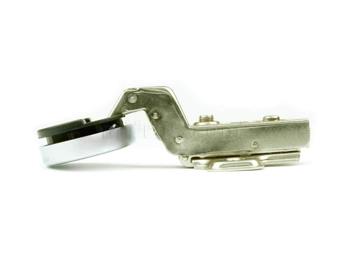 BOYARD Петля H503C/1710 (для стекл. вкл. дверей) d=35мм с доводчиком + накладка хром (100) ВЫВЕЛИ (SALE)