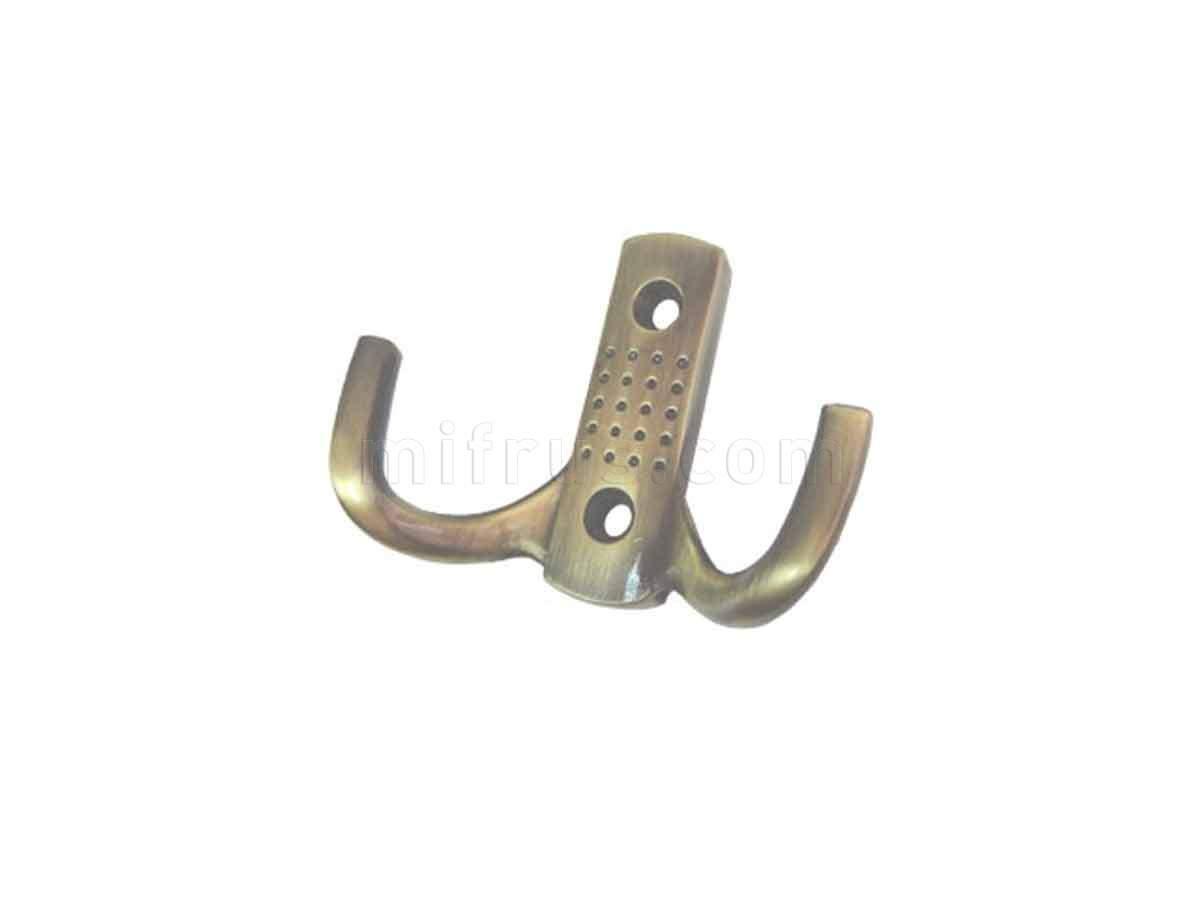 BOYARD Крючок K204AB.6 бронза (25/250)