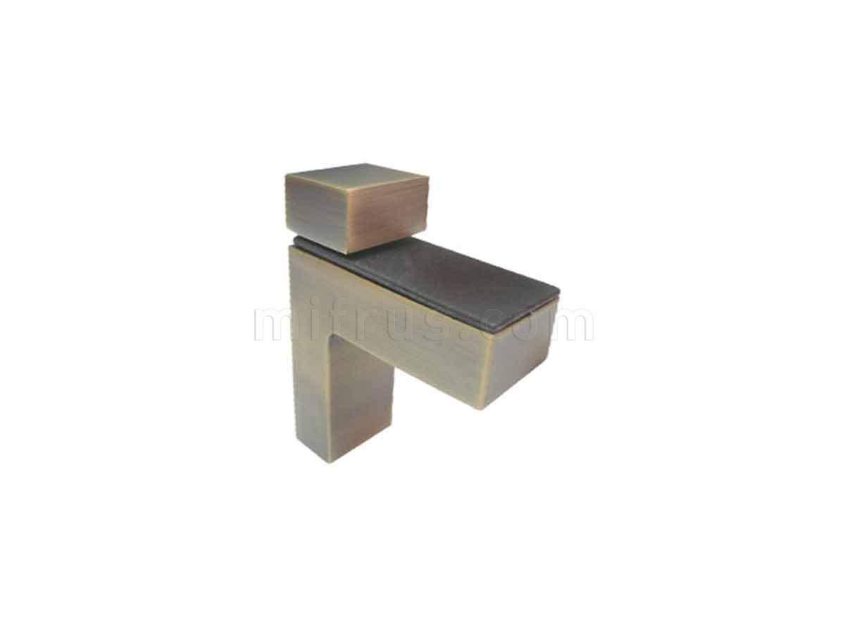 BOYARD Полкодержатель P507AB.2 бронза (15/150)