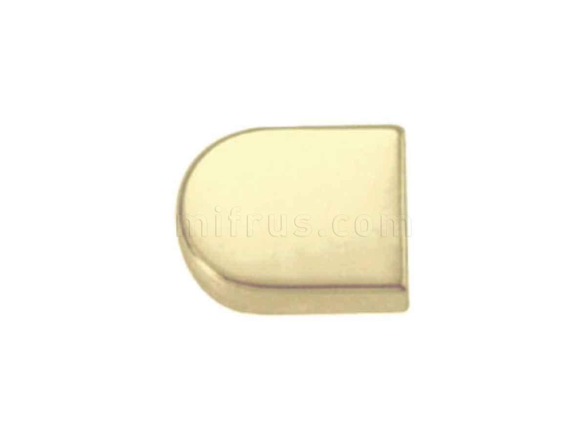 BOYARD Накладка овал H16GP золото (300)