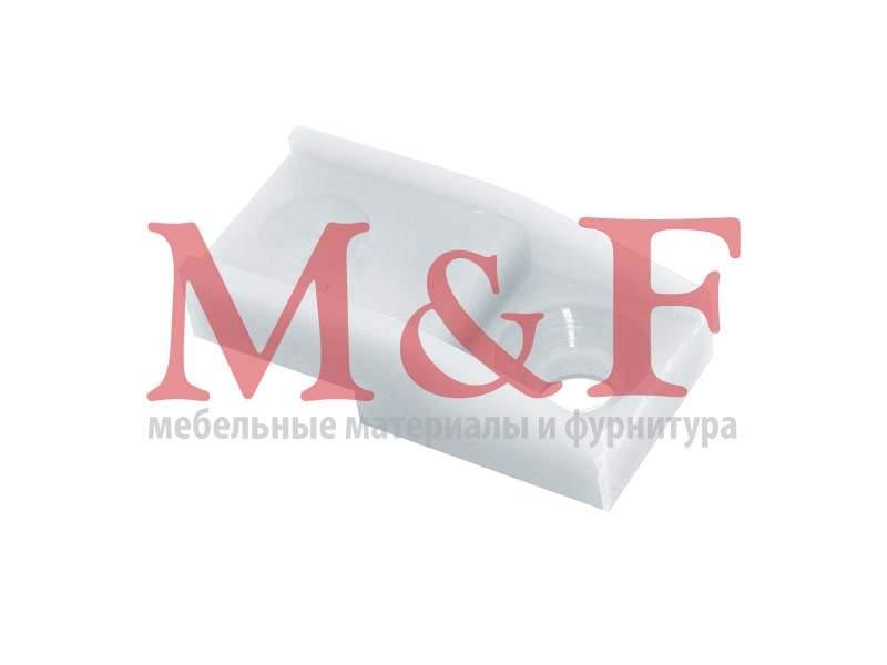 Держатель д/стекла С1 БЕЛ. №1 (ФМ 110) белый (1000)