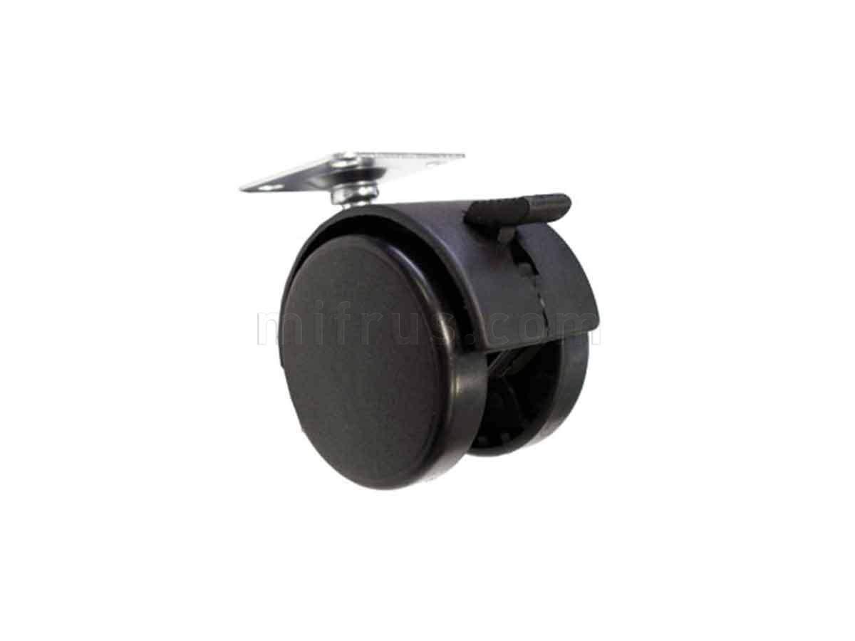 BOYARD Мебельное колесо d=50 со стопором N101BL/BL.3 (240)