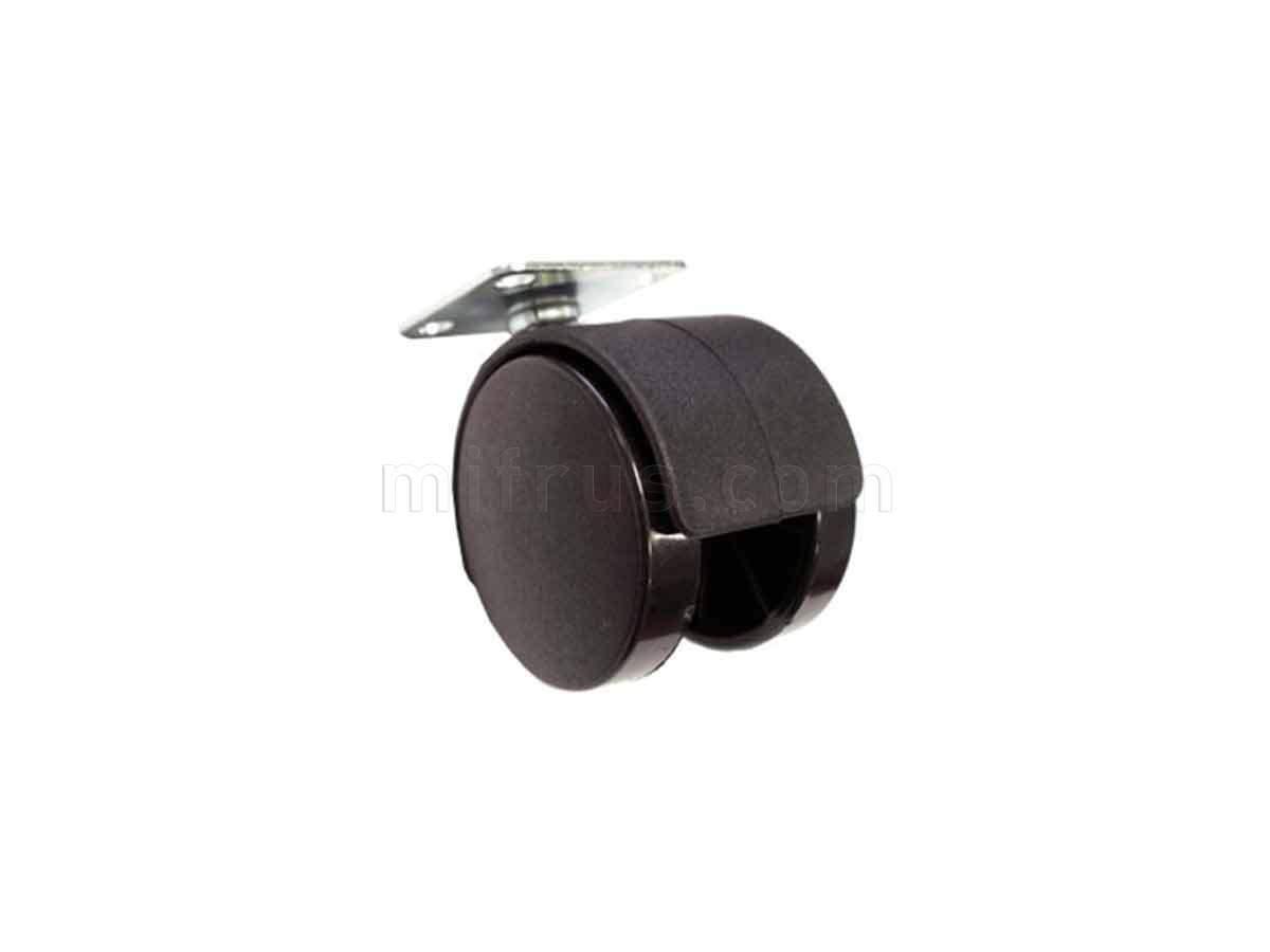 BOYARD Мебельное колесо d=50 без стопора N102BL/BL.3 (240)