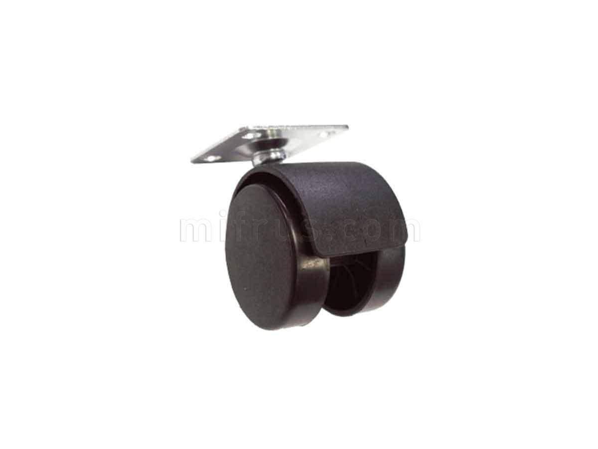 BOYARD Мебельное колесо d=40 без стопора N104BL/BL.3 (300)
