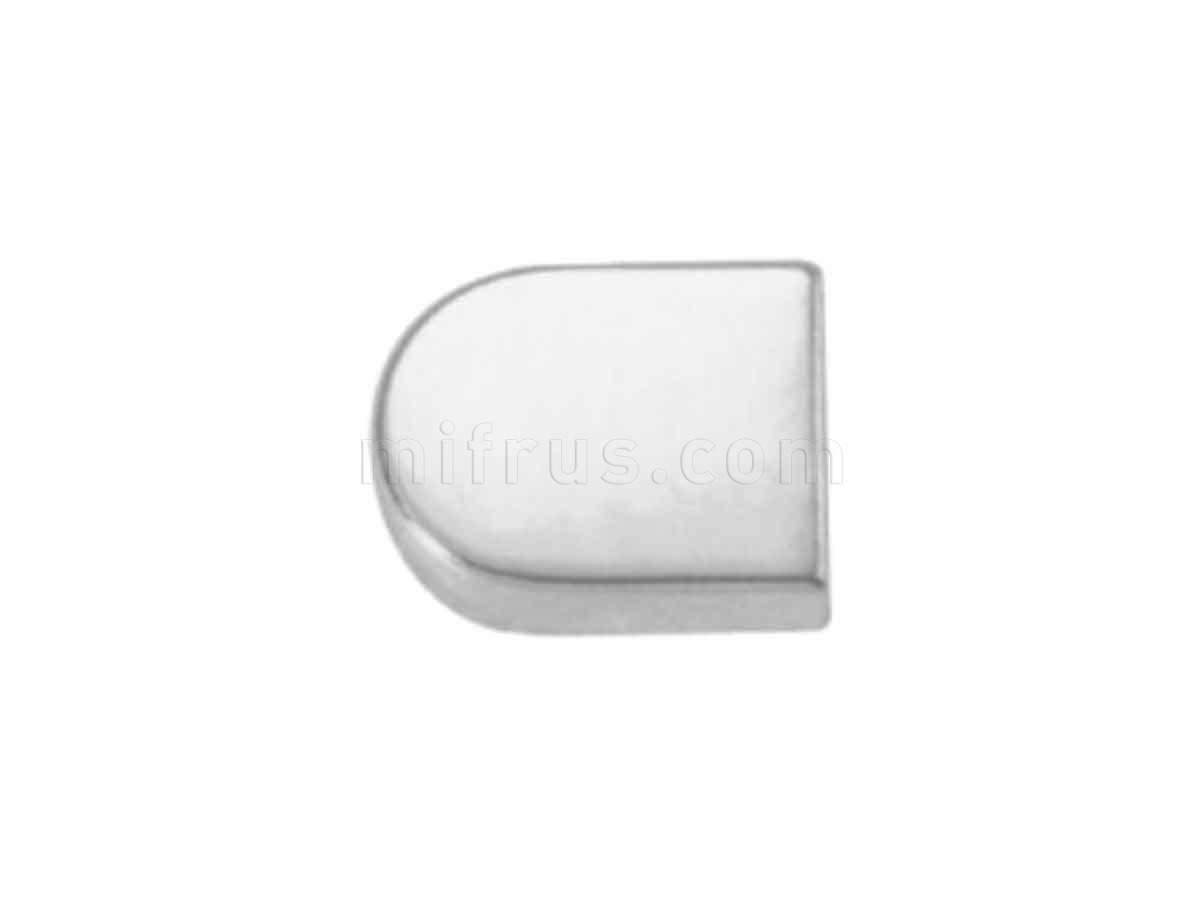 BOYARD Накладка овал H16CP хром (300)