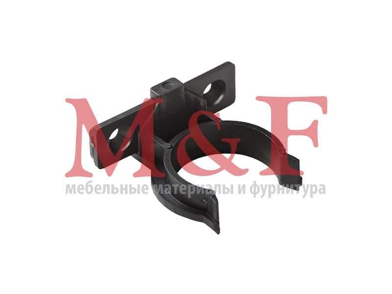 Клипса к опоре кух. рег. Н=100-150 мм черная Россия