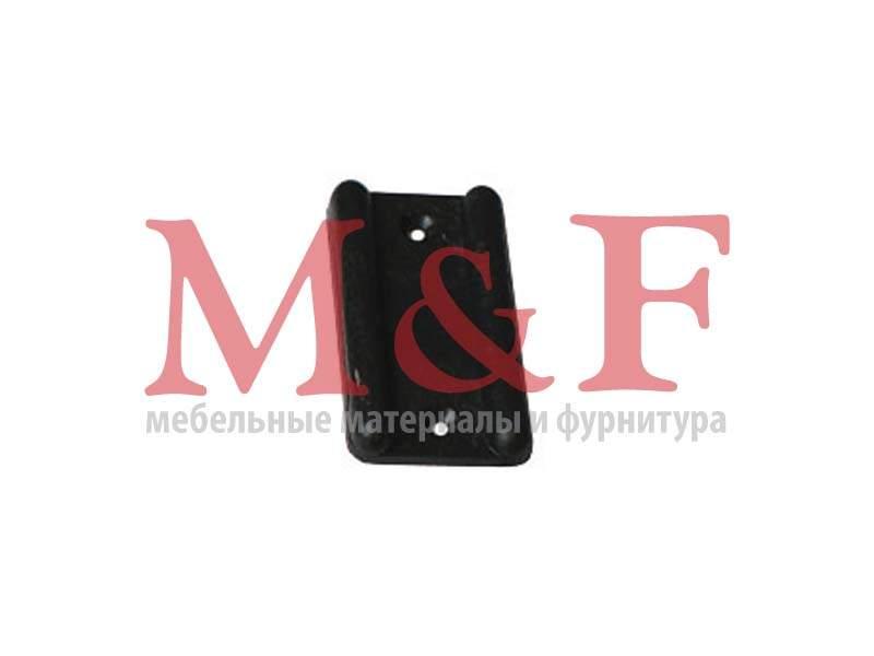 Подпятник пластмассовый под гвоздь черный (10000шт)