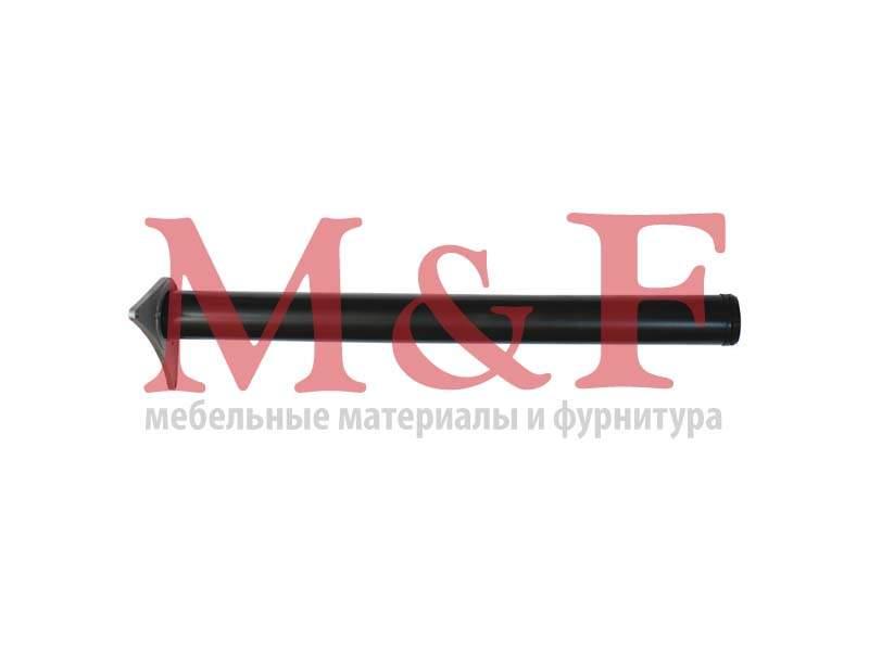 Опора для стола 60*710мм черная (усы)
