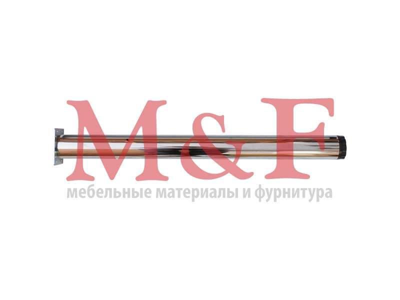 Опора для стола КАПСАН 60*710мм хром (площадка) (SALE)