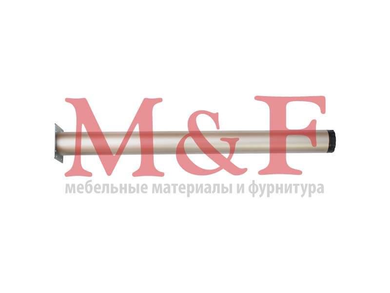 Опора для стола КАПСАН 60*710мм никель мат.(площадка) (SALE)