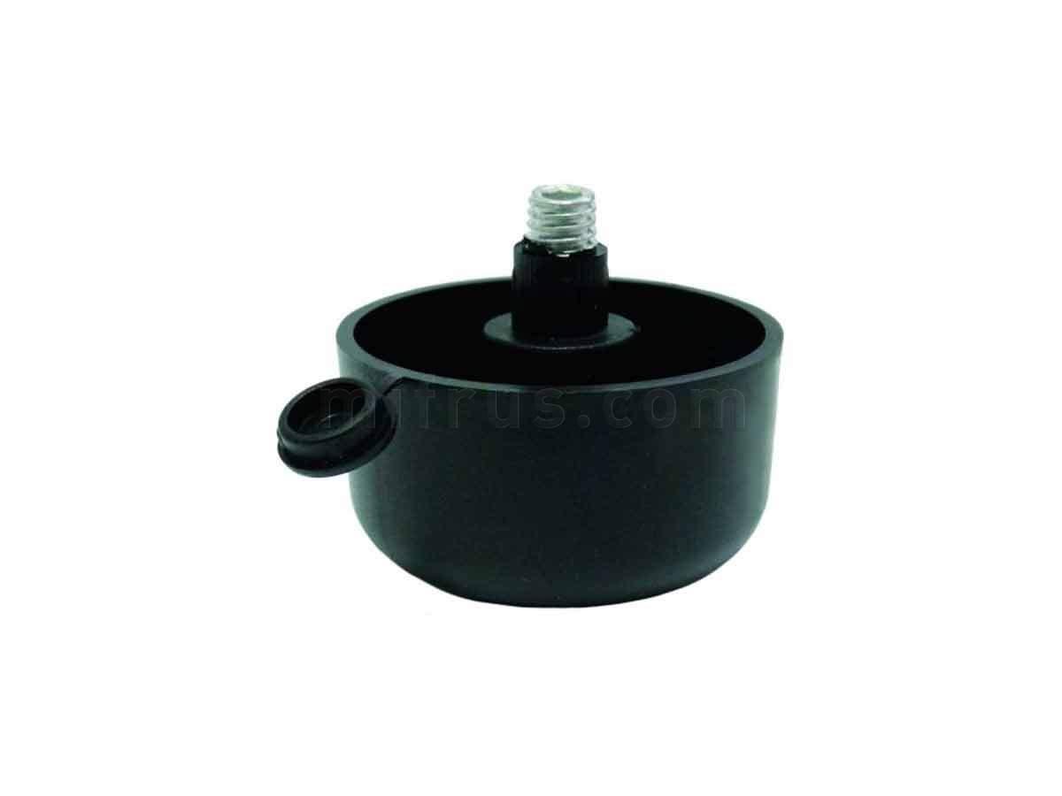 BOYARD Опора N310BL.2 регулир. d=50мм, h=27мм, черная (500)