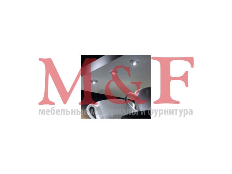 FixPoint, врезной светодиодный светильник, 12 В, 0,2 Вт, холодный белый свет, провод 1700 мм ВЫВЕЛИ (SALE)