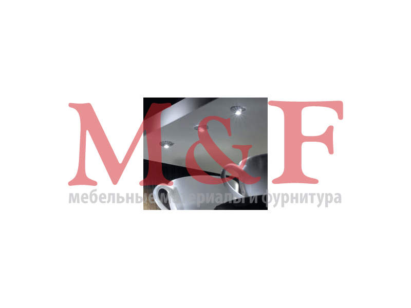 FlexPoint, врезной светодиодный светильник, 12 В, 0,2 Вт, холодный белый свет ВЫВЕЛИ (SALE)
