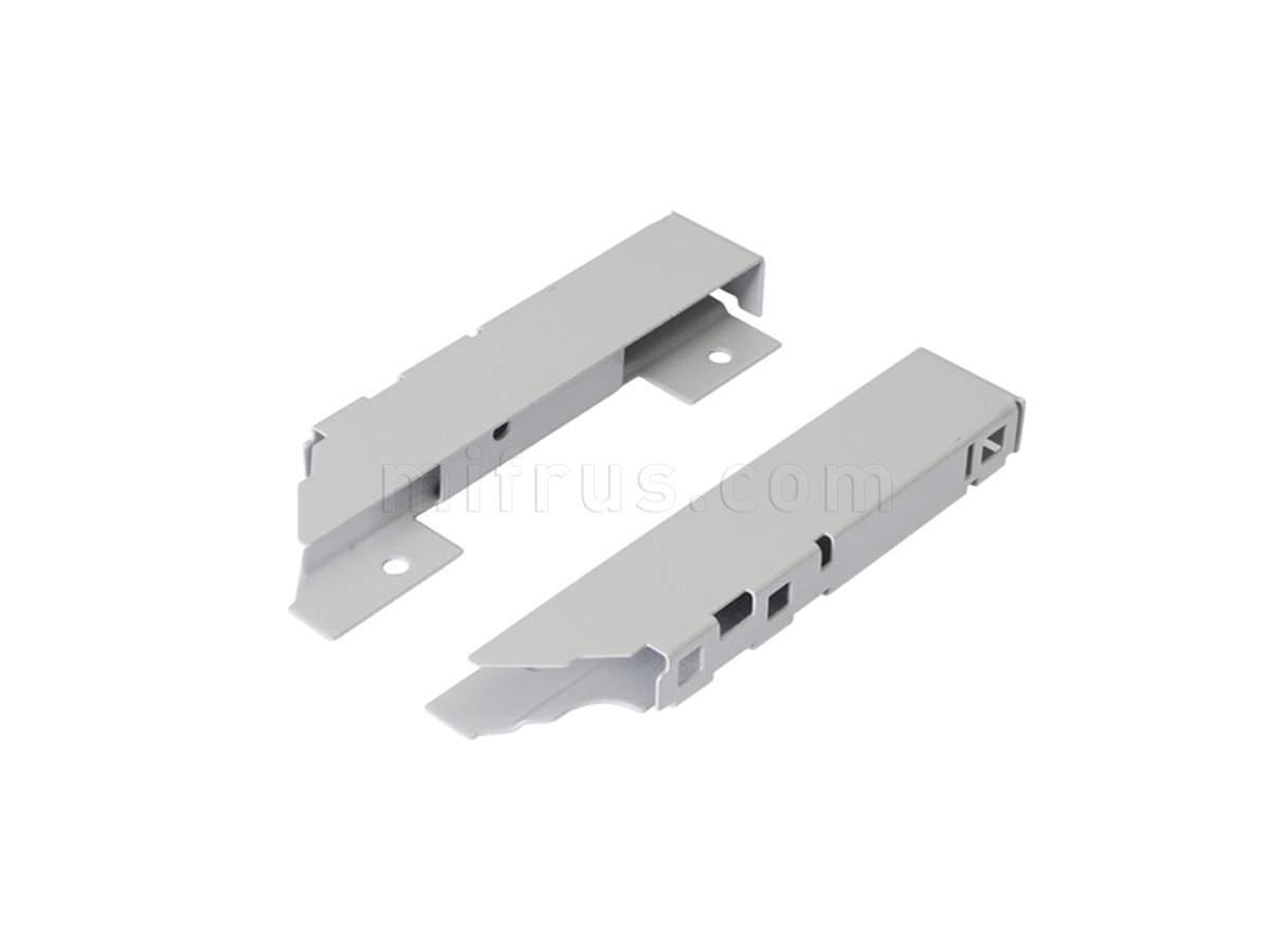 TEN Комплект креплений серый для задней стенки H.150 из ДСП 16мм 58AXPCA60000000
