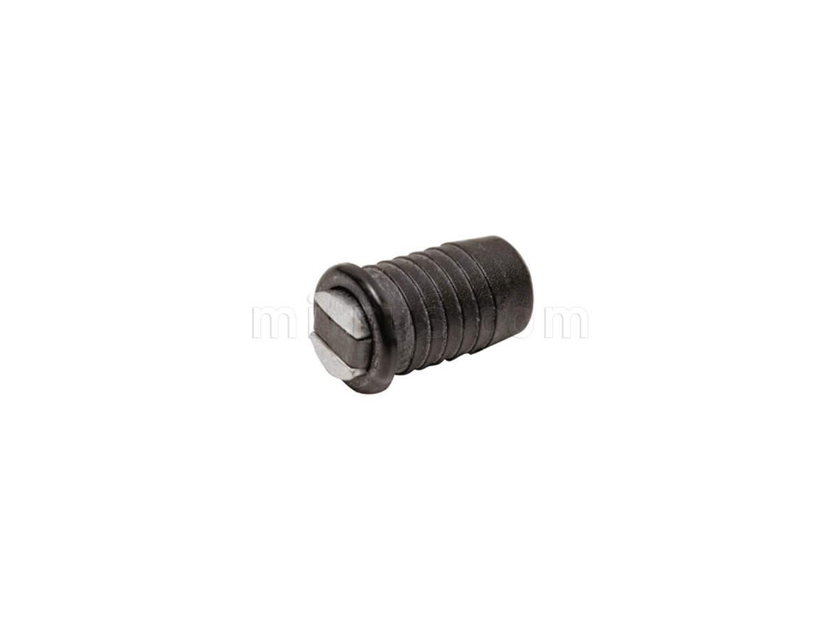 502/CNE Магнит врезной d=8 мм, черный (500)
