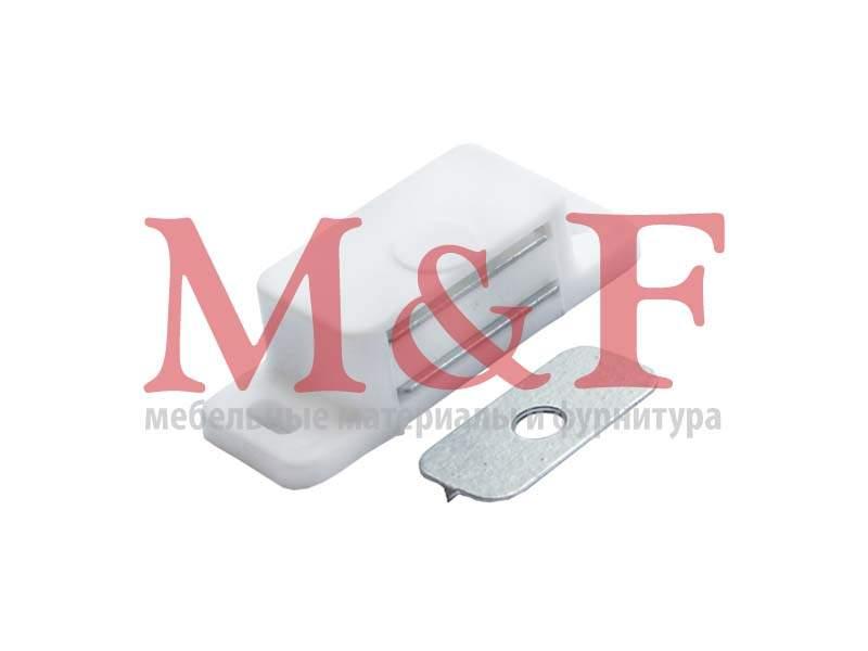 Магнитная защелка белая (50шт)