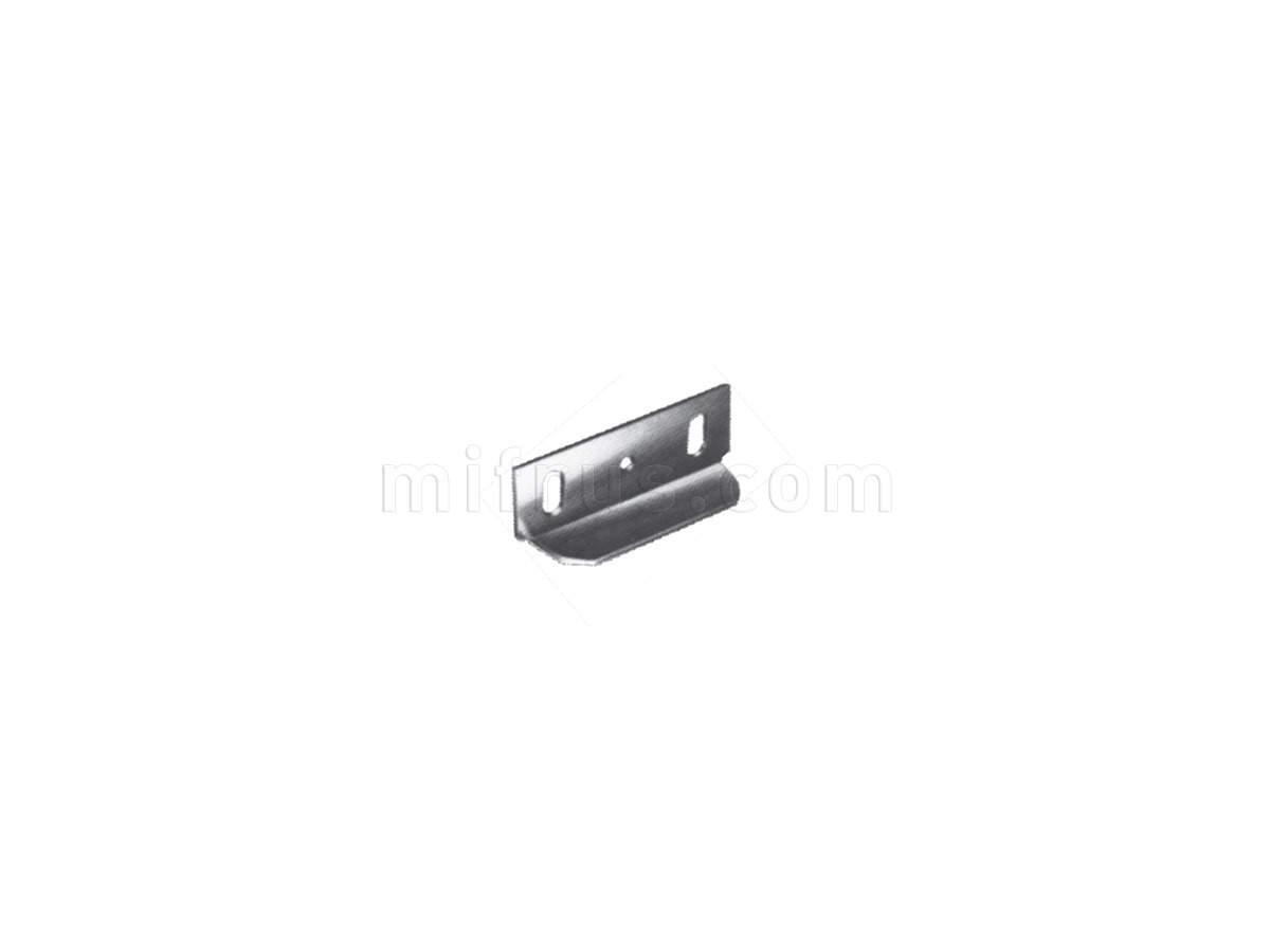 2055.20 Угловая ответная часть для замка, никель